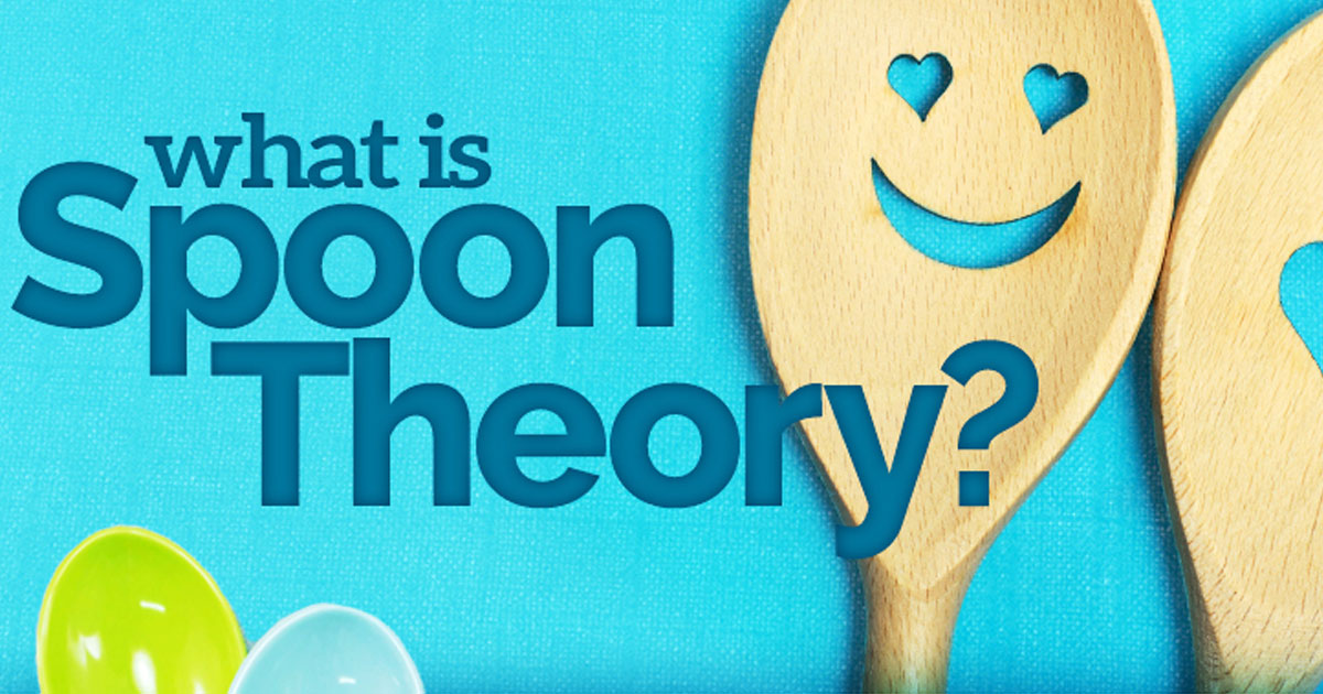 Infographic: If you live with chronic illness, explaining your condition can be tough. The spoon theory was created to do just that, and has since become so much more.